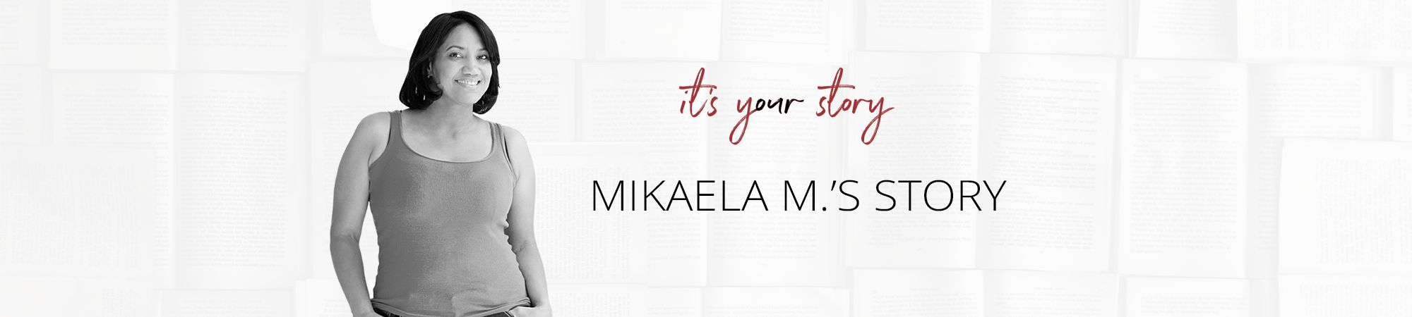 mikaela m story header
